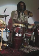 Haymanot Tesfa (2016) 08 (KM's Live Music shots) Tags: drums djembe conga worldmusic burkinafaso stethelburgas haymanottesfa listentotheworld