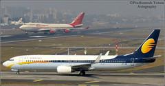 Air India BOEING 747 with Jet Airways BOEING 737 (PrathzRailLover) Tags: aviation planes flights boeing747 airindia velhagoa planespotting boeing737 csia mumbaiairport jetairways chhatrapatishivajiinternationalairport aviography