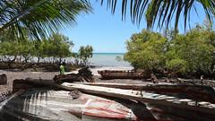 Dhows and Local, Vilanculos, Mozambique (dannymfoster) Tags: africa beach mozambique dhow mocambique vilankulo vilanculos