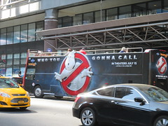 Ghost Busters Movie Billboard Bus AD 3-D NYC 1762 (Brechtbug) Tags: street new york city nyc ladies bus film halloween st lady female port ads movie advertising logo marketing 3d team women funny comedy humorous comic ghost authority humor ad terminal billboard boo spooky commercial second ghosts ban forty 42nd spectral supernatural banning busters spook sequel ters 2016 standee