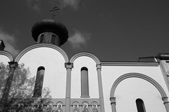 Orthodoxy (John fae Fife) Tags: blackandwhite bw church monochrome belgium noiretblanc nb orthodox gent xe2 fujifilmx