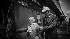 (thierrylothon) Tags: france monochrome flickr fuji bretagne promenade discussion fr morbihan publication noirblanc urbain lorient personnage c1pro captureonepro phaseone activit wclx100 fujix100t fluxapple