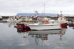 Stykkishlmur, Iceland (Tiphaine Rolland) Tags: ocean sea mer water port boats iceland nikon eau harbour bateaux 1855mm 1855 stykkishlmur islande ocan 2016 breiafjrur d3000 nikond3000