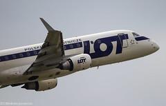 Embraer ERJ-175 (Nikola J.) Tags: lot beg planespotting spotters spotter erj175 embraererj175 lybe belgradeairport splik aerodromnikolatesla airportnikolatesla