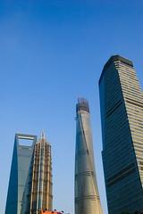 Rascacielos en Pudong (freshwater2006) Tags: china skyscraper   pudong jinmao rascacielos  shanghaitower  shanghaiwfc shanghaishi shanghi