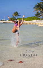 Best Vacation Ever!! (crystal.charters) Tags: blue sea orange sun white fish ski beach water girl swim point fun island happy photography star islands boat photo sand perfect paradise pin sailing with crystal starfish outdoor stingray turquoise jet grand clear dolphins waters caribbean cayman pincushion watersports tours jetski cushion charter charters