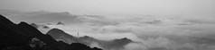 (pulongon) Tags: blackandwhite monochrome fog clouds landscapes taiwan hazy 台灣 風景 mists 雲海 thickfog 霧 濃霧 雲瀑 cloudwaves 朦朧 迷霧 newtaipei 新北市 cloudwaterfall 雲浪