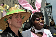 Easter Parade (greenelent) Tags: nyc newyorkcity costumes people easter spring hats parade fifthavenue easterparade