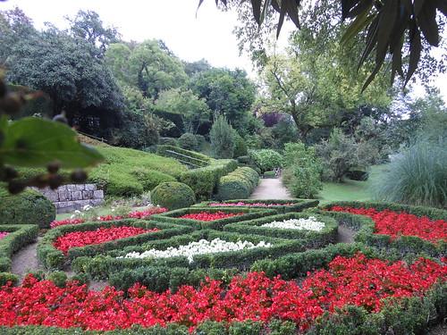 massifs fleurs arboretum