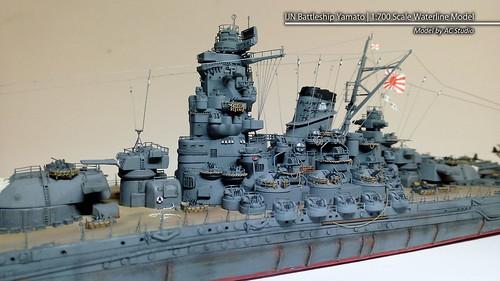 Flickriver: Photoset '1/700 Yamato - IJN Battleship (Best of