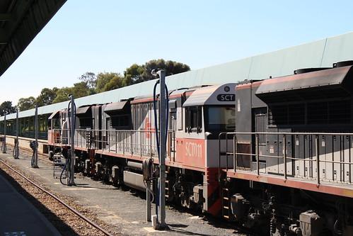 Train accident/derailment at Keswick - a photo on Flickriver