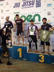 Lukasmar Bandeira 3º Puesto en el Europeo NO-GI 12-04-2015 Team Jucao Spain Euskadi