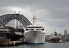 Astor bow view docked (PhillMono) Tags: voyage new bridge cruise classic wales boat nikon ship harbour south sydney australia vessel bow tug dslr veteran astor tanker cmv oiler destine d7100