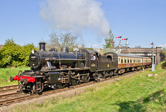 IMG_1969 (Kev Gregory) Tags: road bridge heritage work is day weekend no leicester great north central first railway 18th here class steam event hauling april service locomotive gregory kev beneath seen railways loughborough passes mogul beeches 2015 gcr ivatt 46521 2mt 2a091045