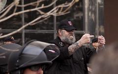 IMG_7125 (Wespennest) Tags: ohio demo spring cops nazi nazis protest police demonstration toledo armor april riotpolice riotcops neonazis nsm bodyarmor jeffschoep nationalsocialistmovement kenkrause