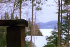 Berea #4 (Aaron Sheahan) Tags: winter lake snow mountains film 35mm newengland newhampshire pentaxk1000 fujifilm hebron fujicolor