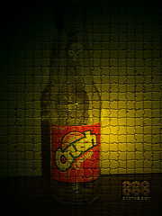 Orange Crush (Ju) Tags: orange bottle laranja coke pepsi soda crush garrafa mineirinho grapette laranjinha