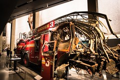 Ladder 3 - 9/11 Memorial (Number Johnny 5) Tags: new york city nyc 3 truck fire memorial engine d750 april wtc ladder tamron 2470mm 2015 ladder3
