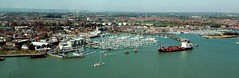 Gosport harbour from The Spinnaker (in Explore) (gillybooze (David)) Tags: sea marina boats harbour explore portsmouth vistas spinnaker gosport ©allrightsreserved
