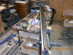 Hank Kennedy table saw project - diy guide rails 05