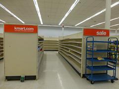 Reconfigured Grocery Shelves (Nicholas Eckhart) Tags: cambridge ohio usa retail america us oh stores kmart 2015 supercenter discountstore superkmart