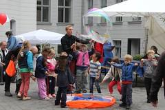 Seifenblasenfabrik Bubblebo Seifenblasenshow beim Tag der offenen Tür im Bundesministerium für Landwirtschaft 14