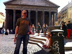 "Me outside the Pantheon (Photo: Edita Nichols) • <a style=""font-size:0.8em;"" href=""http://www.flickr.com/photos/41849531@N04/17369876775/"" target=""_blank"">View on Flickr</a>"