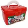 Maleta plástica (www.ciadebrindes.blogspot.com) Tags: buffet escola crianças aniversário brinde lanche maleta presente escolas organizador maletinha