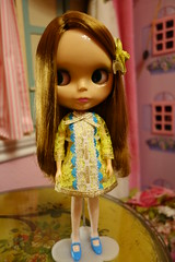 Just standing there... (Primrose Princess) Tags: parco blythe takara lounginglindadress dollydreamland takaraparcoblythedoll takarafirstreleaseblythedoll
