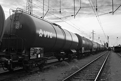 VTG (Stephane Laborde) Tags: bw white black bulb speed train canon wagon noir slow gare nb amtrak 7d shutter et blanc sncf renfe