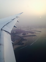 First views of Qatar.