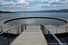 Strandbad Tiefenbrunnen, Zürich (Sekitar) Tags: lake schweiz switzerland see suisse zurich zürich svizzera strandbad zürichsee tiefenbrunnen svizra