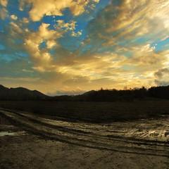 Rabun County (leavesofclay) Tags: county winter sunset rural georgia farm rabun northgeorgia dillard
