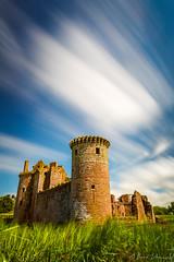 Caerlaverock Castle (buddsnax) Tags: uk longexposure castle scotland le historicscotland dumfriesandgalloway caerlaverockcastle bigstopper