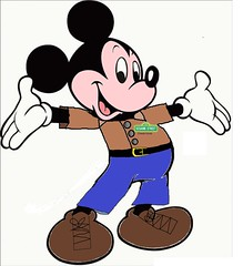 Mickey Mouse in a New Modern outfit (PatrickRich) Tags: new modern disney sesamestreet mickeymouse jimhenson