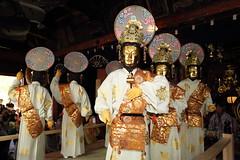 Hotokemai  ---Masked dance--- (Teruhide Tomori) Tags: festival japan dance kyoto play mask event 京都 日本 tradition japon maizuru 面 伝統行事 如来 舞鶴 松尾寺 重要無形民俗文化財 行道面 matsuotemple 仏舞 importantintangiblefolkculturalpropertiesofjapan
