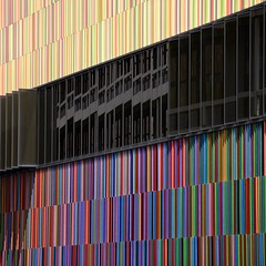 lines.colored (hoffi99) Tags: abstract architecture facade hoffi99 museumbrandhorst reflection