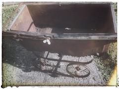 Cyclops (YAZMDG (15,000 images)) Tags: toy rust rusty cyclops crusty perambulator 1913 babycarriage toypram