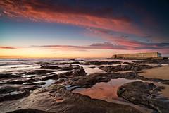 Sunrise near Cowrie Hole (noompty) Tags: ocean sunrise newcastle pentax baths nsw k1 carlzeiss shorescape zk singhray distagont2821 reversendgradfilter on1pics