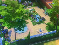 Regal Day-Dae Park. My Design for the Sim4 Simulation Game. It has a Amphitheater, Art Center, Gardens, Maze, Library, Shops, Wellness Center, Hot Tub, Sauna, Bar, Dance Floor Observatory, Campground  and Playground.  EA: Sim4 ReginaDayDae (EDWW day_dae (esteemedhelga)™) Tags: park camping ballet fountain pool playground garden painting dance library chess simulation observatory bakery amphitheater artcenter gym sauna thesims coffeshop horsehoe sims4 regaldaydaepark