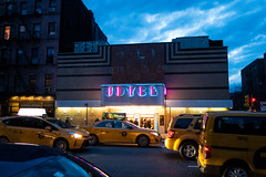Joyce Theater (UrbanphotoZ) Tags: nyc newyorkcity sky ny newyork clouds chelsea audience dusk manhattan taxis joyce coopers deco joycetheater eighthave thejunglebook craftkitchen