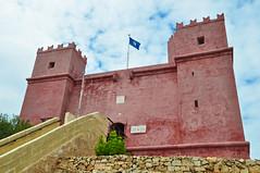 Red Tower (milka rabasa) Tags: redtower malta stagathe nikond5000