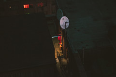 Johannesburg (elsableda) Tags: shadow night canon dark southafrica lights alleyway haunting johannesburg joburg