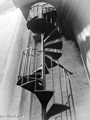 Stepping up to sacred melodies... (Gian Floridia) Tags: bw spiral milano bn staircase scala organo chiocciola bienne sansimpliciano