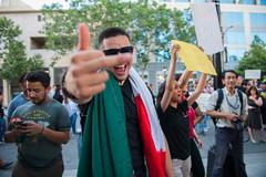 SJ Trump Rally (JenniferMedia) Tags: people america democracy san political rally jose protest sanjose center convention violence donaldtrump republican trump democratic