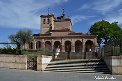 CONJUNTO DE IGLESIA (claverinza) Tags: nikon boadilladelmonte arquitectura iglesias rboles