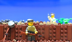 {The Front} (- MMB -) Tags: world history one war lego