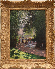 Claude Monet - The Parc Monceau 1878 (ahisgett) Tags: new york art museum met metropolitian