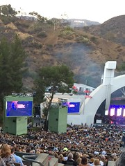 Peter Gabriel and Sting! (scrnnmna) Tags: petergabriel sting hollywoodbowl