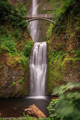 Multnomah Falls (Samantha Decker) Tags: canonef1635mmf28liiusm canoneos6d columbiarivergorge multnomahfalls nd or oregon pnw pacificnorthwest samanthadecker longexposure neutraldensity waterfall